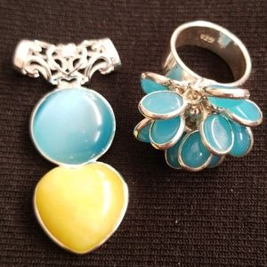 Very Pretty Pendant and Ring
